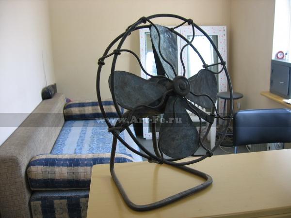Кованый вентилятор.
