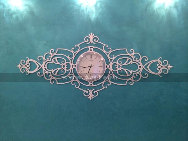 Кованый браслет и часы