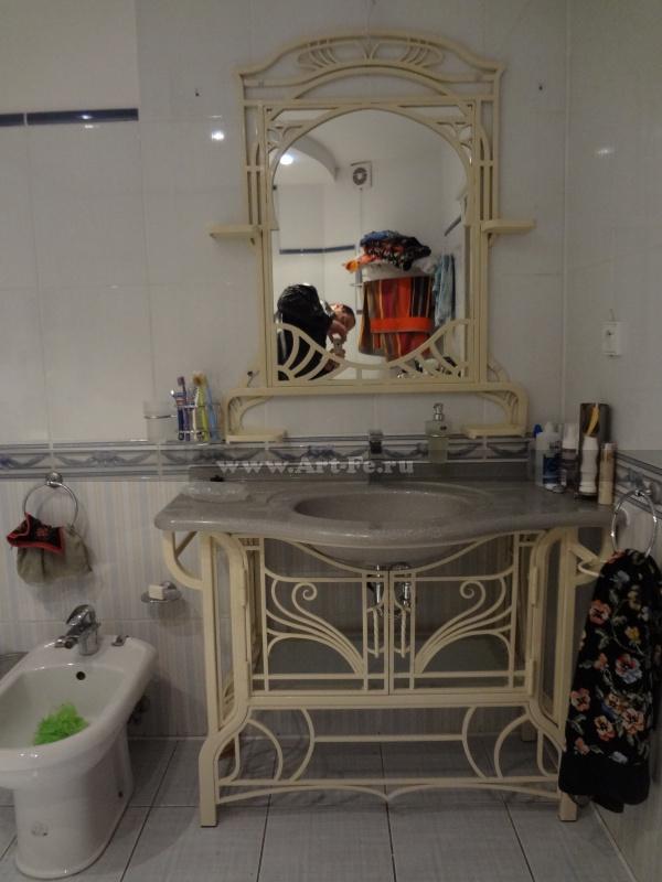 Мебель для ванной комнаты. Ванное зеркало. Подставка под раковину.