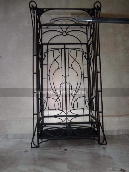 Торговая витрина, Кованая мебель фото